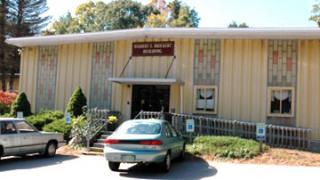 Front of Senior Center Building in Holliston
